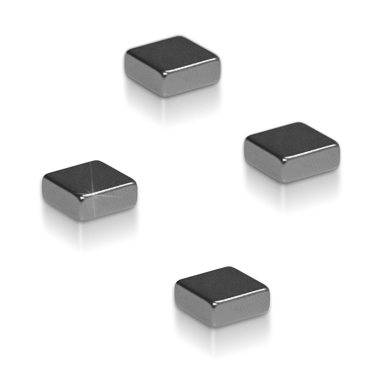 4 St/ück f/ür Glas-Magnetboards Magnettafeln Master of Boards/® Neodym Magnete
