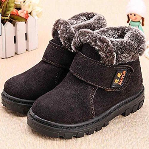 ... OverDose Unisex-Baby Mädchen Jungen Winter Kind Art Baumwollschuh  Warmer Schnee Stiefel 1-6 ...