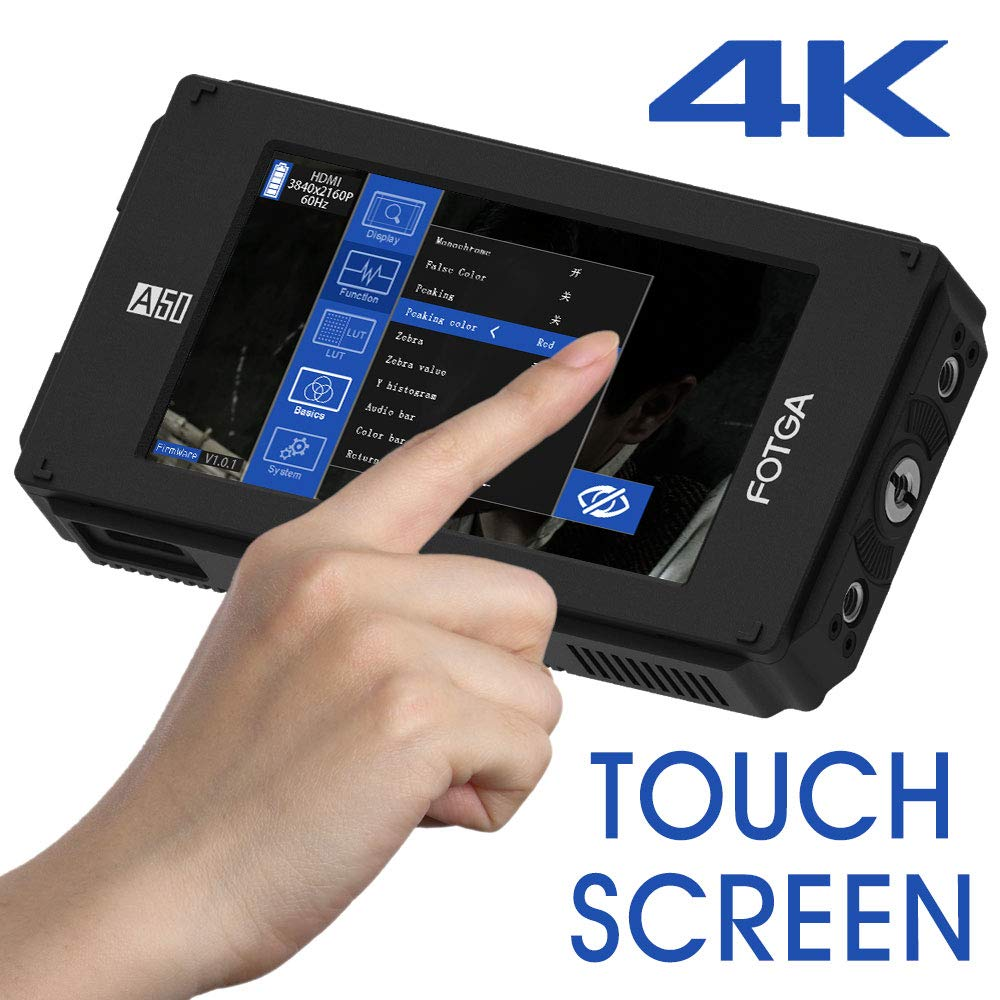 Monitor Camara Fotga Dp500iiis A50t 5inch 1920x1080 4k Hdmi