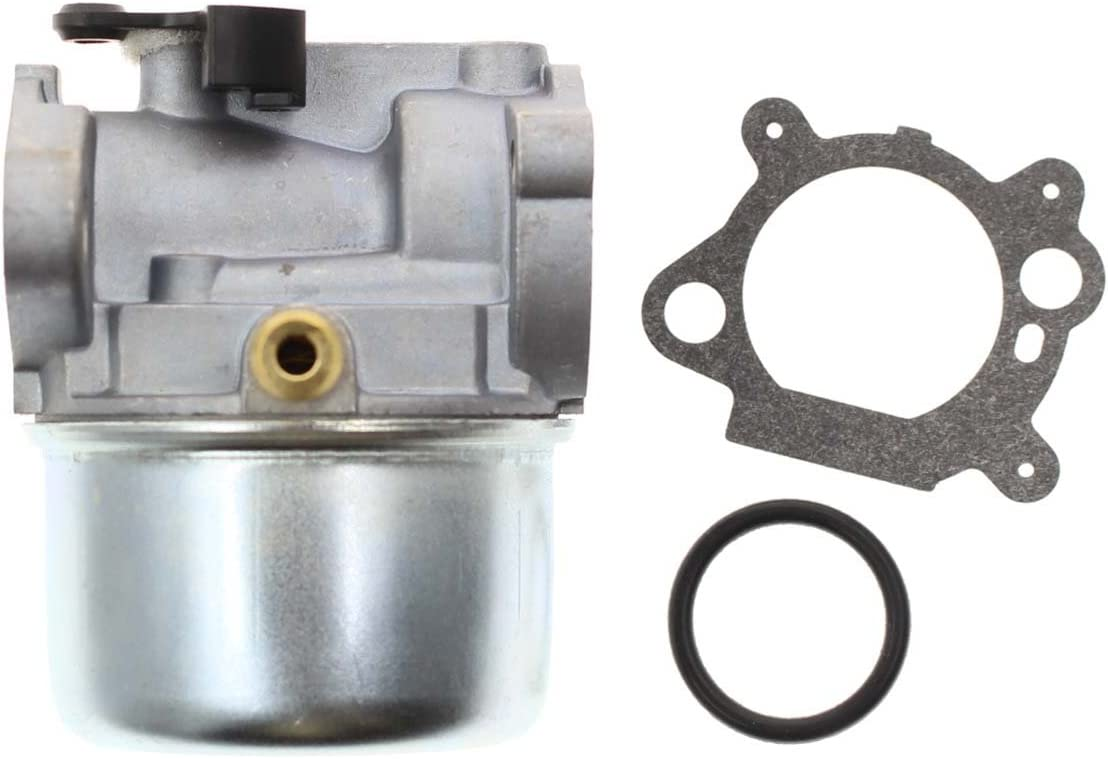 799868 Carburetor Fits 498170 497586 497314 698444 498254 497347 Models, 4-7 hp Engines with No Choke, Replacement Carburetor with Gasket and O-Ring: Automotive