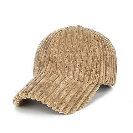 Ddcfd Berretto da Baseball Cappello Donna Caldo Cappello di Velluto A Coste  Autunno E Inverno Cappello f6ce00893285