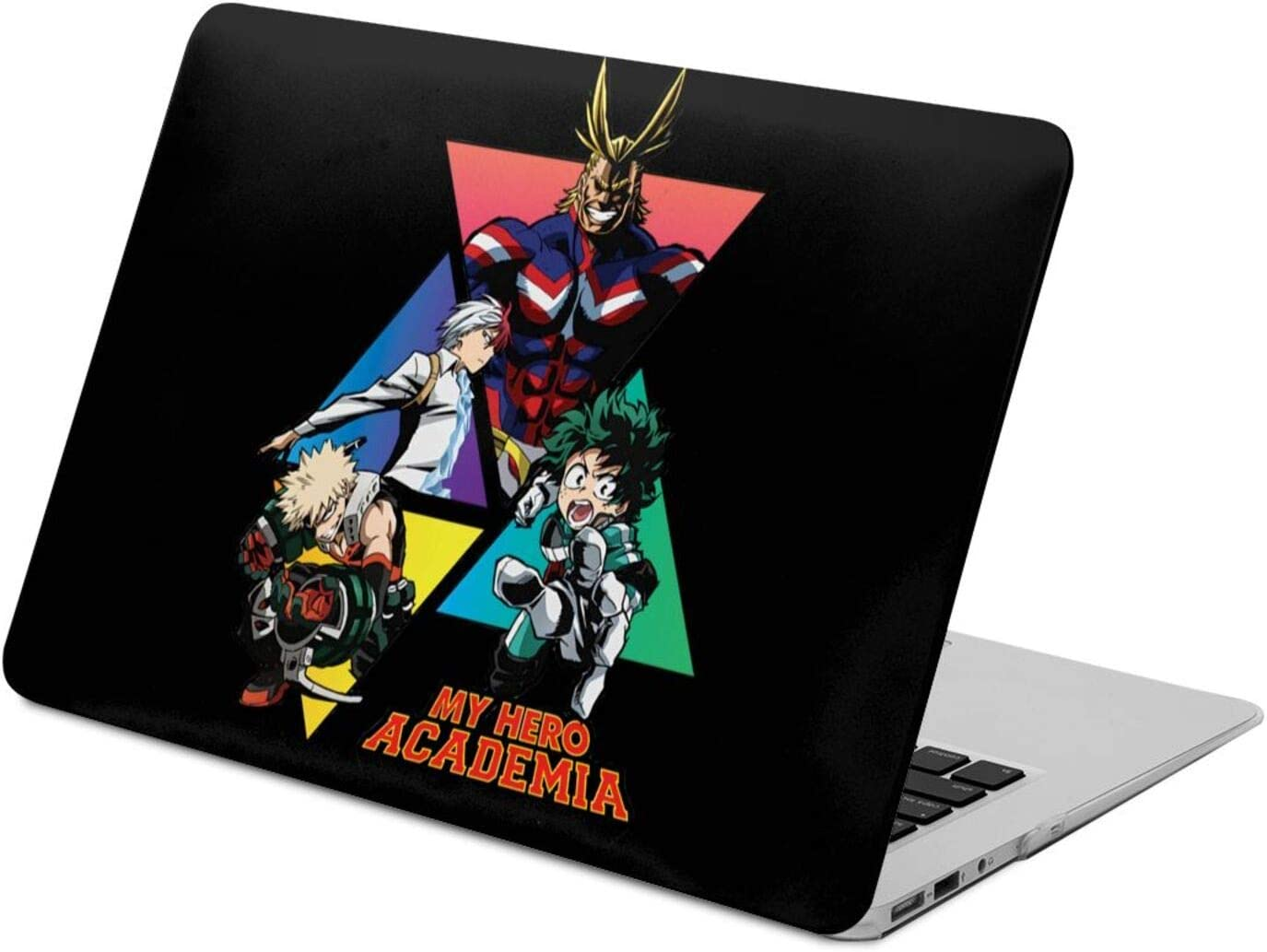 DHFDH My Hero Academia Laptop Case, Hard Case Plastic Pattern Shell Hard Caser,Storage Bag Compatible with MacBook Air13, Pro13 inch Case for A1706,A1708,A1989,A2159,A1466,A1369,A1932,A1707,A1990