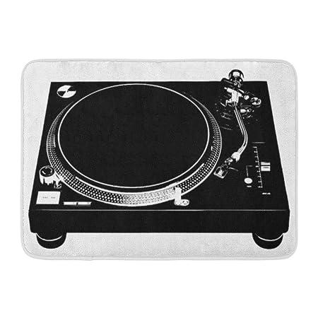 YnimioHOB Alfombrilla de baño Tocadiscos DJ Deck Música ...