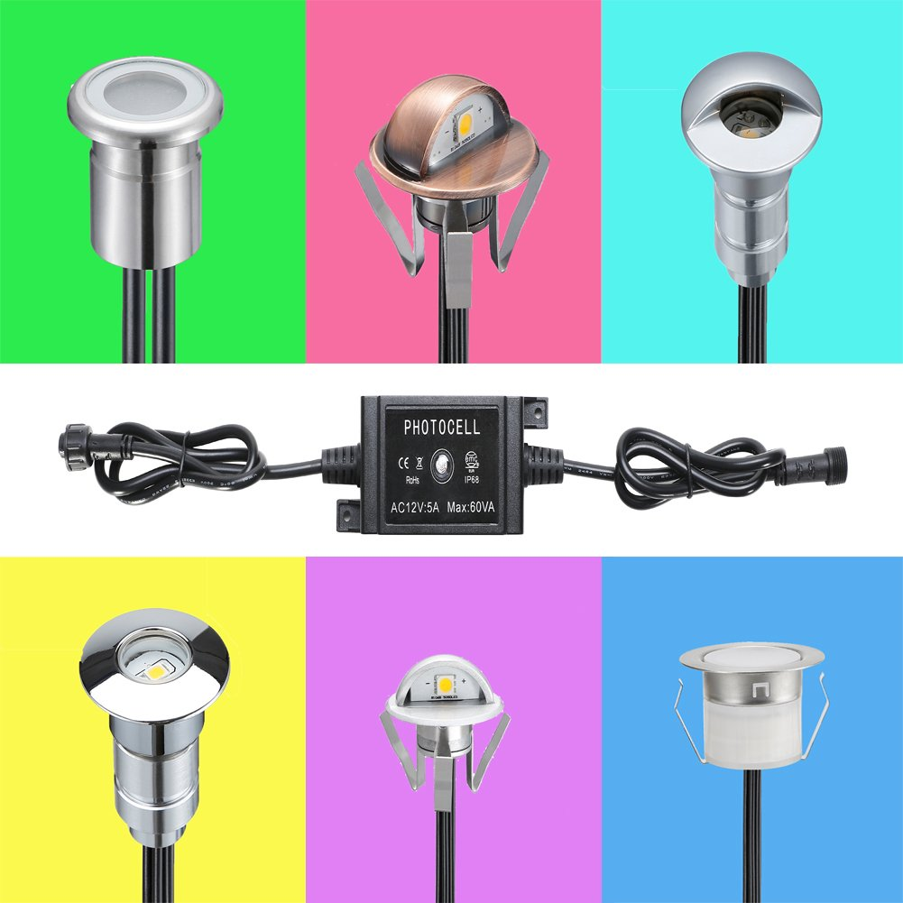 FVTLED LED Photocell DC 12V PC Waterproof IP68 Max.load Power 60W for Outdoor Light Switch Used SEVEN COLORS LIGHTING TECHNOLOGY CO LTD