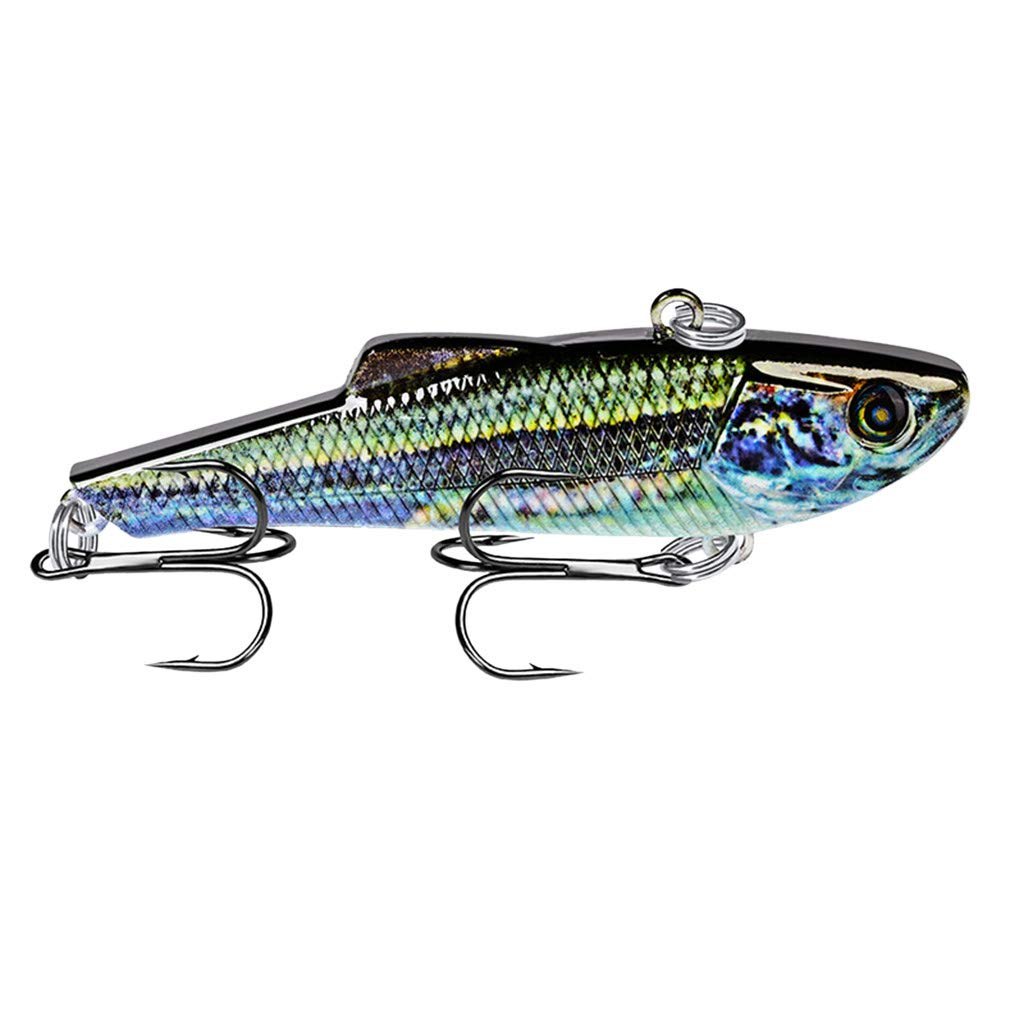 HighlifeS Fishing Bait Newest Artificial Fake Fish Bait More Colors Fishing Lure Bait Bionic Fishing Gear 1Pc (I)