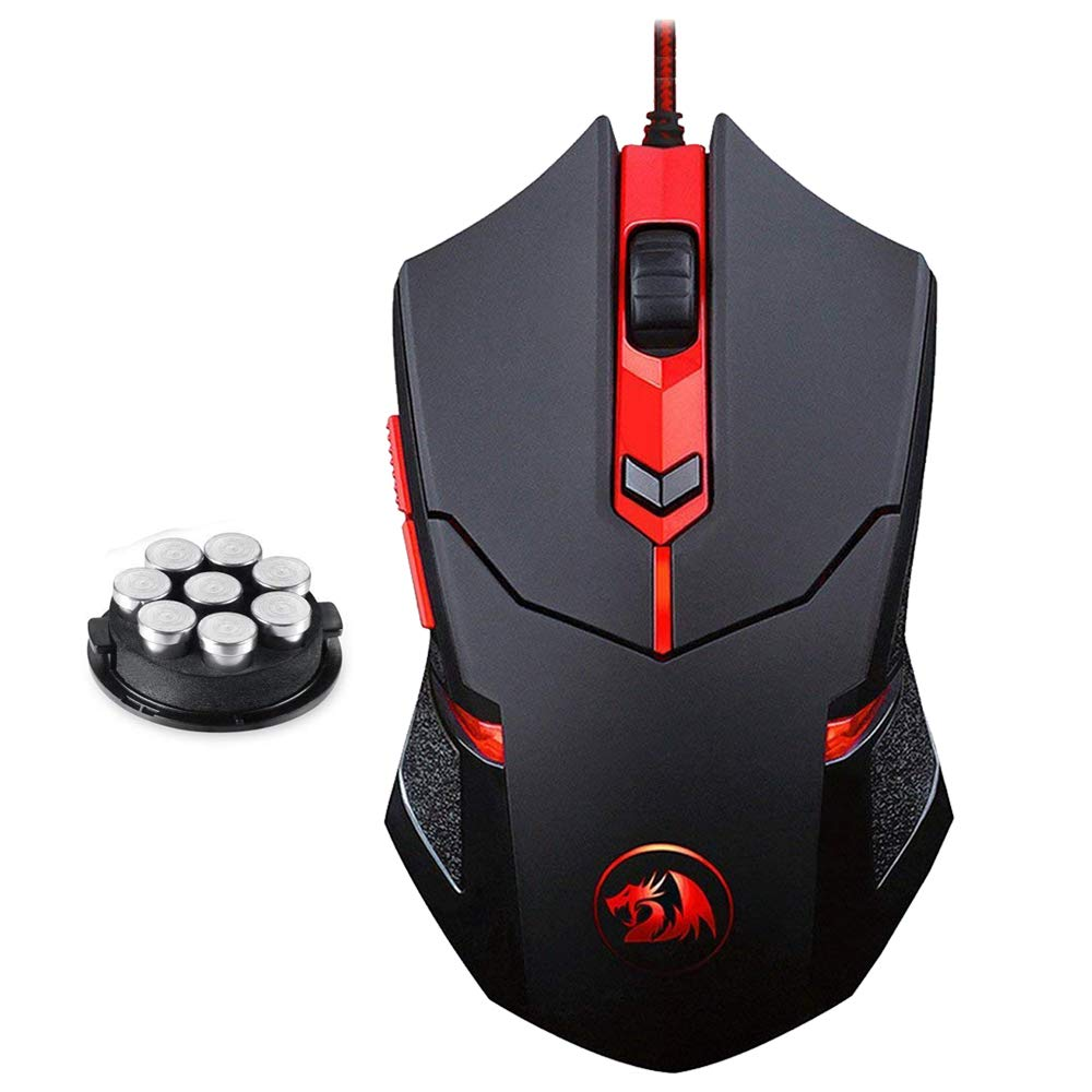 Mouse Gamer : Redragon M601 Wired Gaming Mouse, Ergonomic,..
