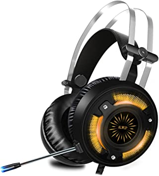 ALWUP Cascos PS4 Gaming, Auriculares Gaming PS4 Xbox One con ...