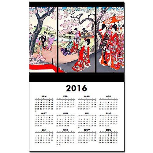 CafePress Cherry Blossom Calendar One Page