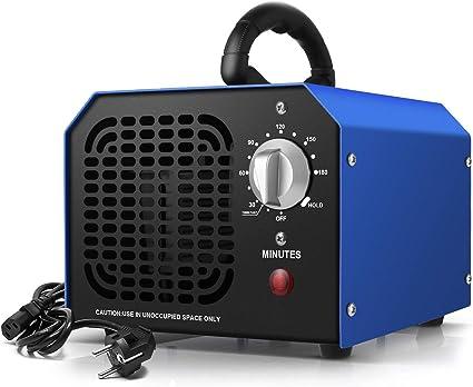 Generador de ozono Ozonizador 6000 MG/ h, Purificador de Aire ...