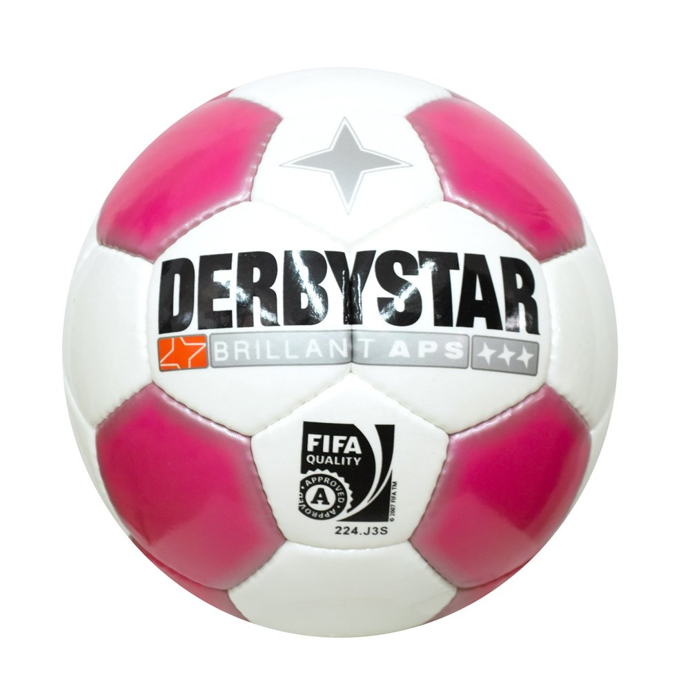 Derbystar brillant APS Eredivisie de fútbol, color - weiß - rosa ...