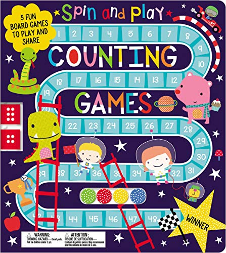 Game Counting Kindergarten - Spin and Play Counting Games