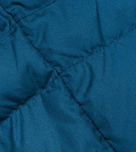 LAPASA Corto 2 Blu Giacca L18 Invernale e da Donna Cappotto Manica Leggero Caldo Piumino Lunga rrUqa