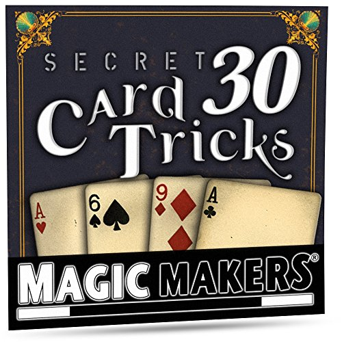 Magic Makers 30 Secret Card Tricks, Easy to Master Card Tricks on DVD