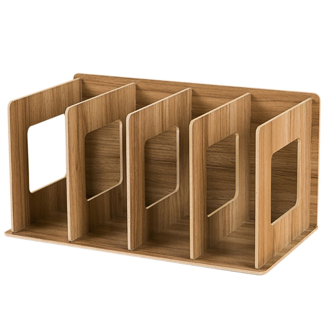 itechor wooden cd racks desktop storage organizer office shelves holder for 190550777498 ebay. Black Bedroom Furniture Sets. Home Design Ideas