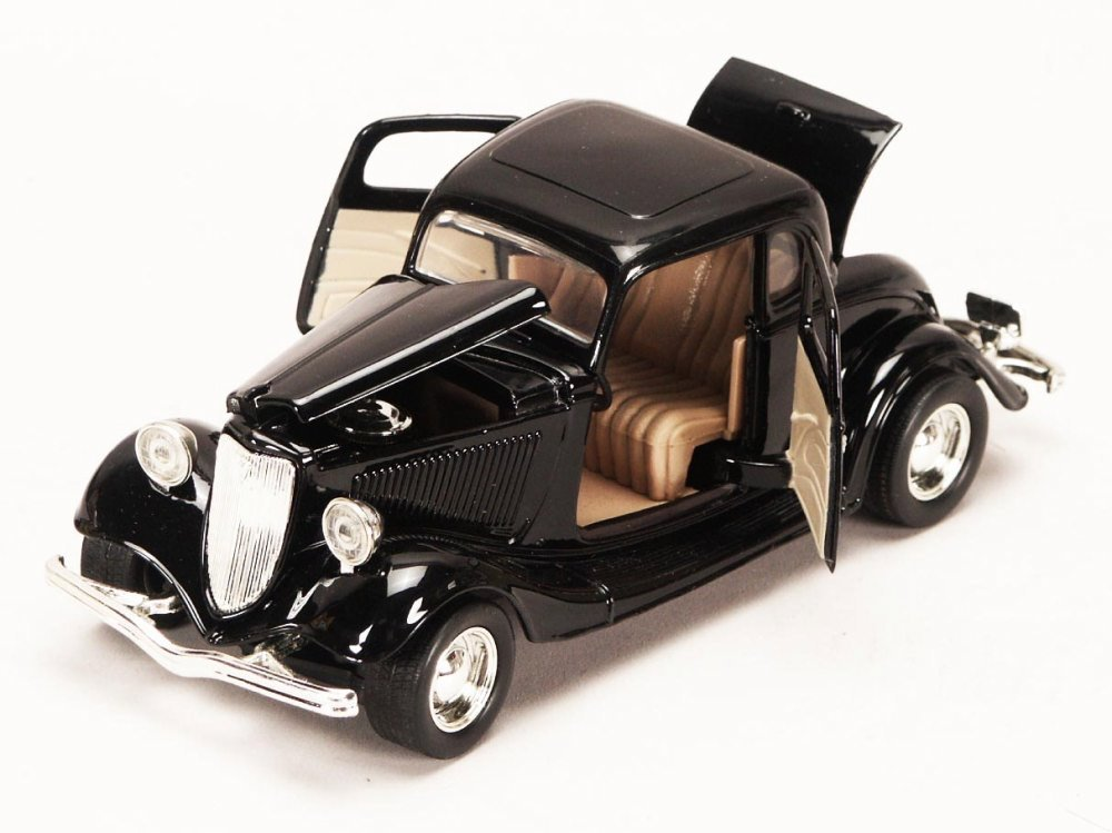 Amazon.com: 1934 Ford Coupe, Black - Motormax 73217 - 1/24 scale ...