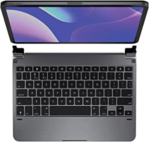 Brydge 11.0 Pro Wireless Keyboard | Compatible with iPad Pro 11-inch (2018) and iPad Air 4 (2020) | Backlit Keys | Long Battery Life | (Space Gray)