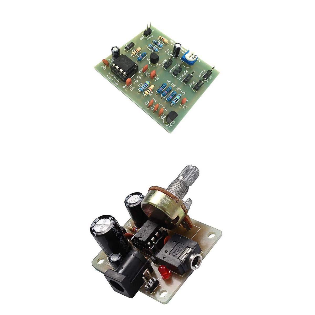 Baoblaze 1 piece LM386 Mini Amplifier Board + 1 piece NE555 Multi-Channel Waveform Generator Module SETS