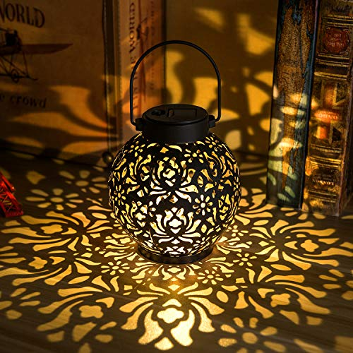 Solar Patio Table Lamp in US - 3