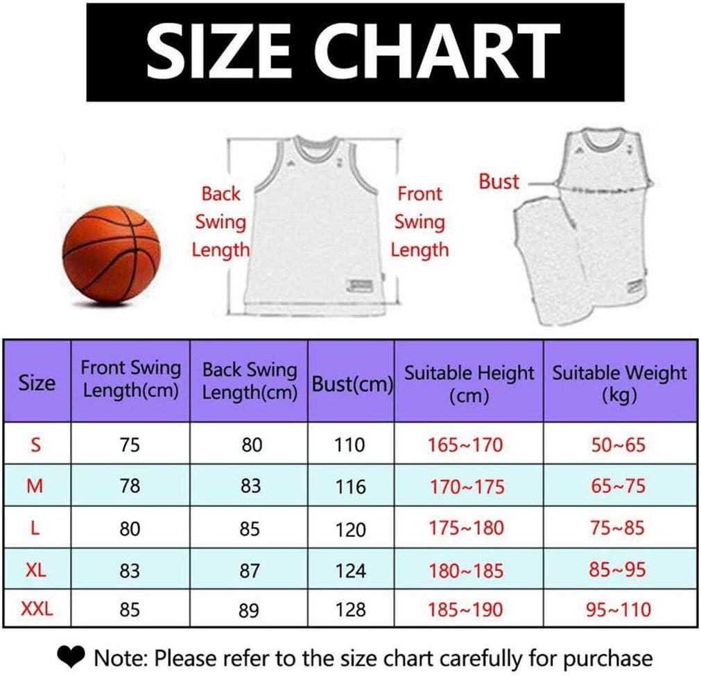 GSPURS Herren Basketball Jersey Heat 7# Dragic Atmungsaktiv Schnelltrocknend /Ärmellos Sportweste Top