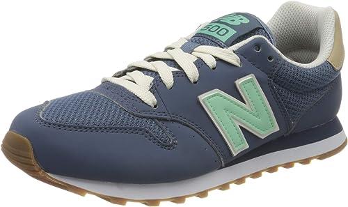 New Balance Damen 500 Sneaker, Blau (GW500HHG), 39 EU ...