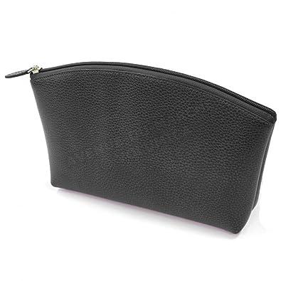 Trousse de voyage cuir Noir Fabrication Luxe Française  Amazon.fr ... e706337cb2a