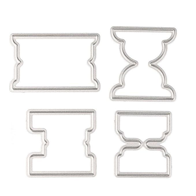 Amazon.com: Topunder Q - Plantilla de metal para ...