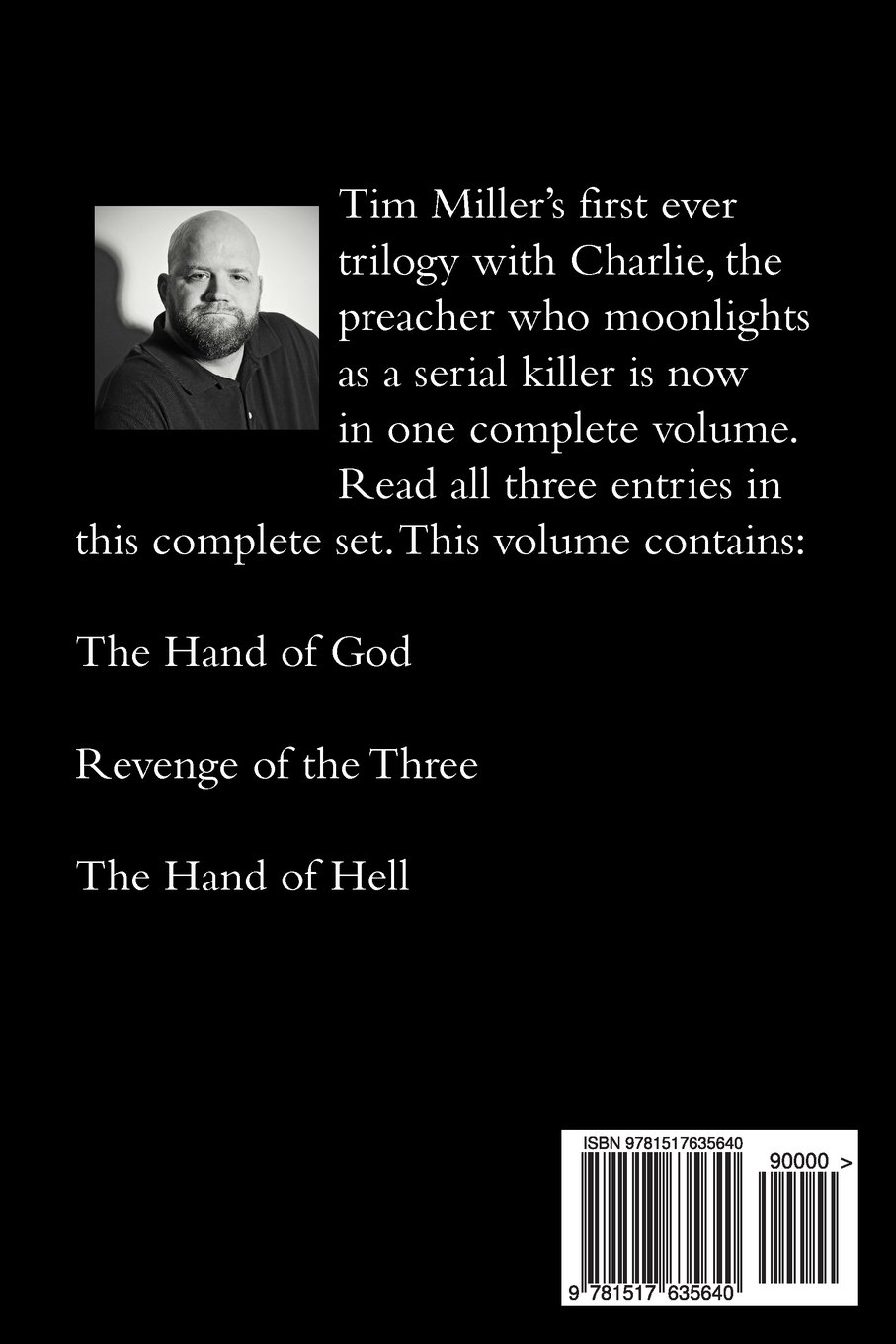 Tim Miller's Hand of God Trilogy: Tim Miller: 9781517635640: Amazon.com:  Books