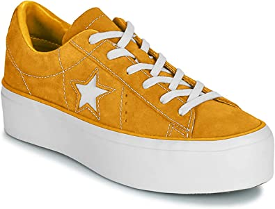 Converse One Star Platform Suede Ox