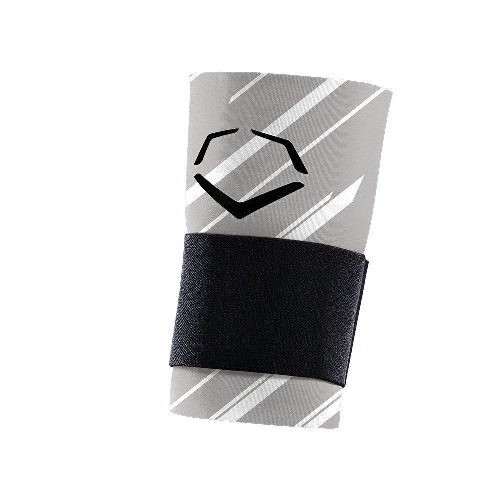 EvoShield MLB Speed Stripe Wrist Guard with Strap, Grey, Large