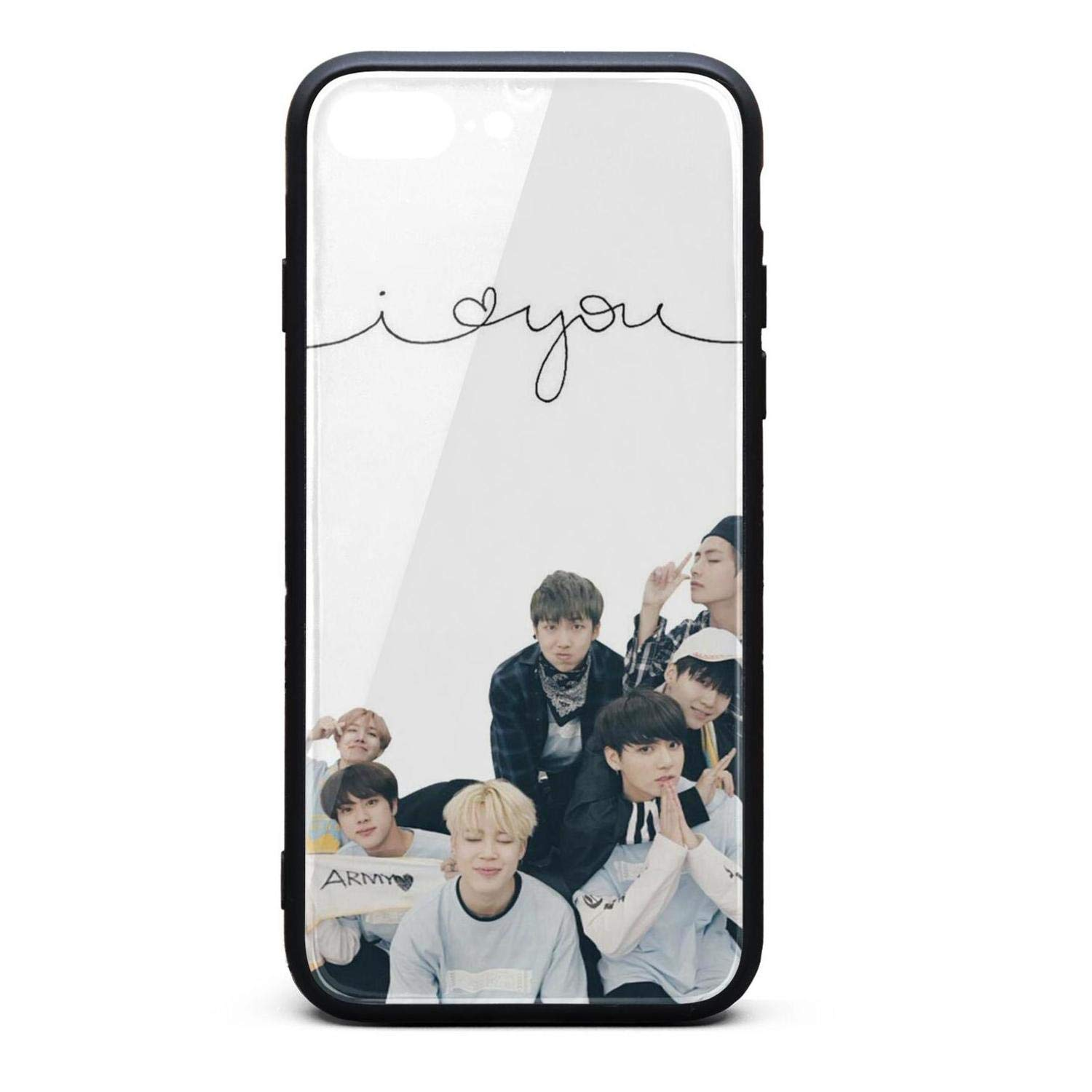 Amazoncom Bts Members Wallpapers Case For Iphone 7 Plus