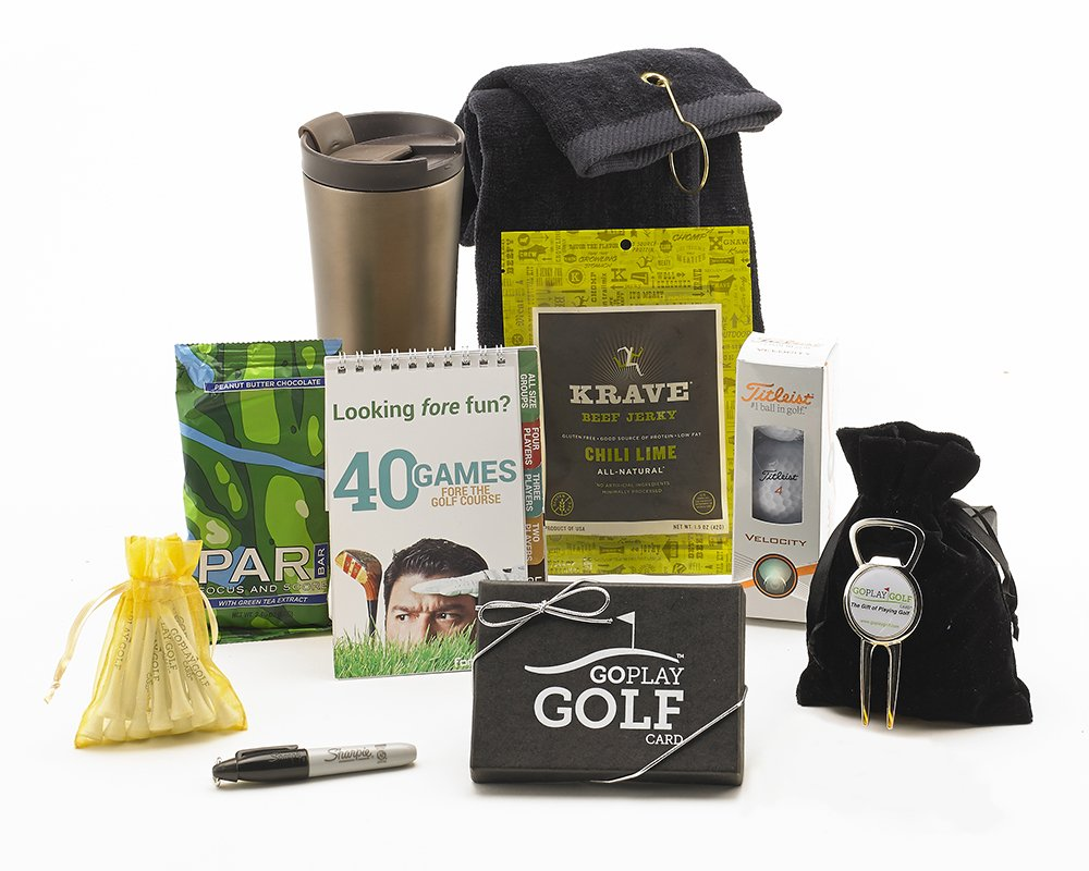 Go Play Golf Essentials iii-50ギフトバスケットfor Men and Women   B0773CNPQW