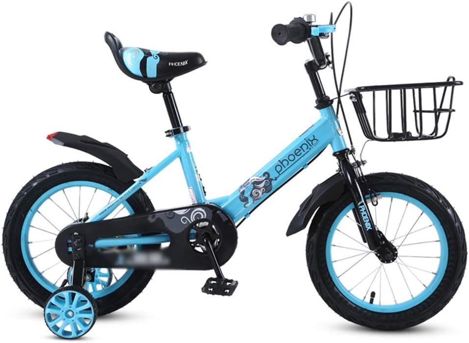 DT La Nueva Bicicleta Azul Rosa para niños 6-7-8-9-10 años ...