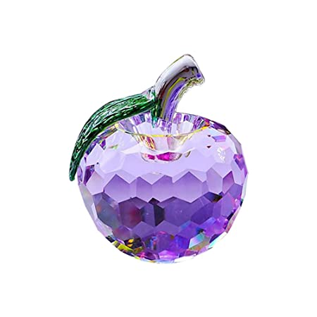 Eastlion Crystal Apple Christmas Gifts Creative Christmas Eve Peace ...