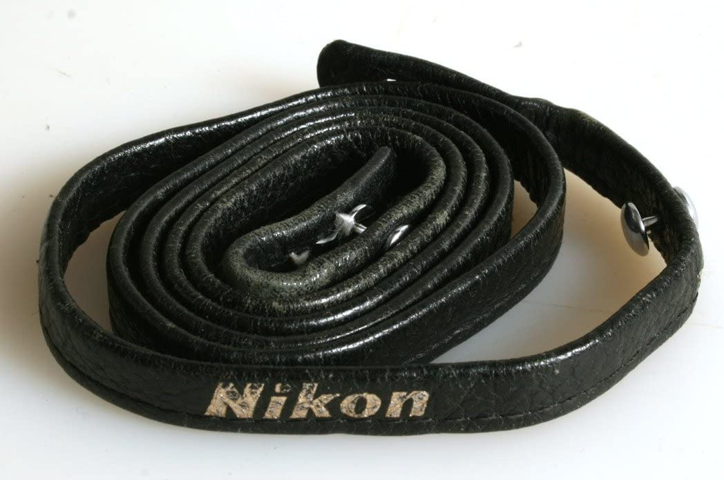 NIKON F Leather Strap Original Vintage