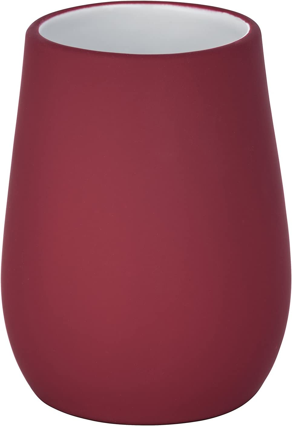 9 x 8.5 x 17 cm 8 x 10,5 x 8 cm Rot Porta spazzolini in Ceramica Wenko 23269100 Sydney Ceramica