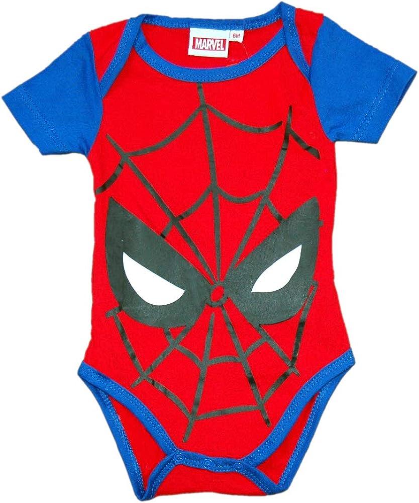 Spider-Man Body para Bebe Ropa Avengers Reci/én Nacido