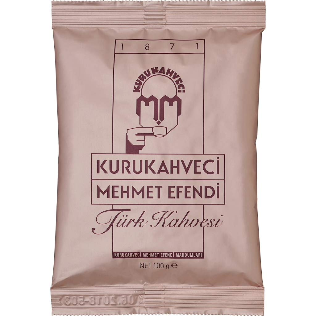 Turkish Ground & Roasted Coffee – 3.5oz