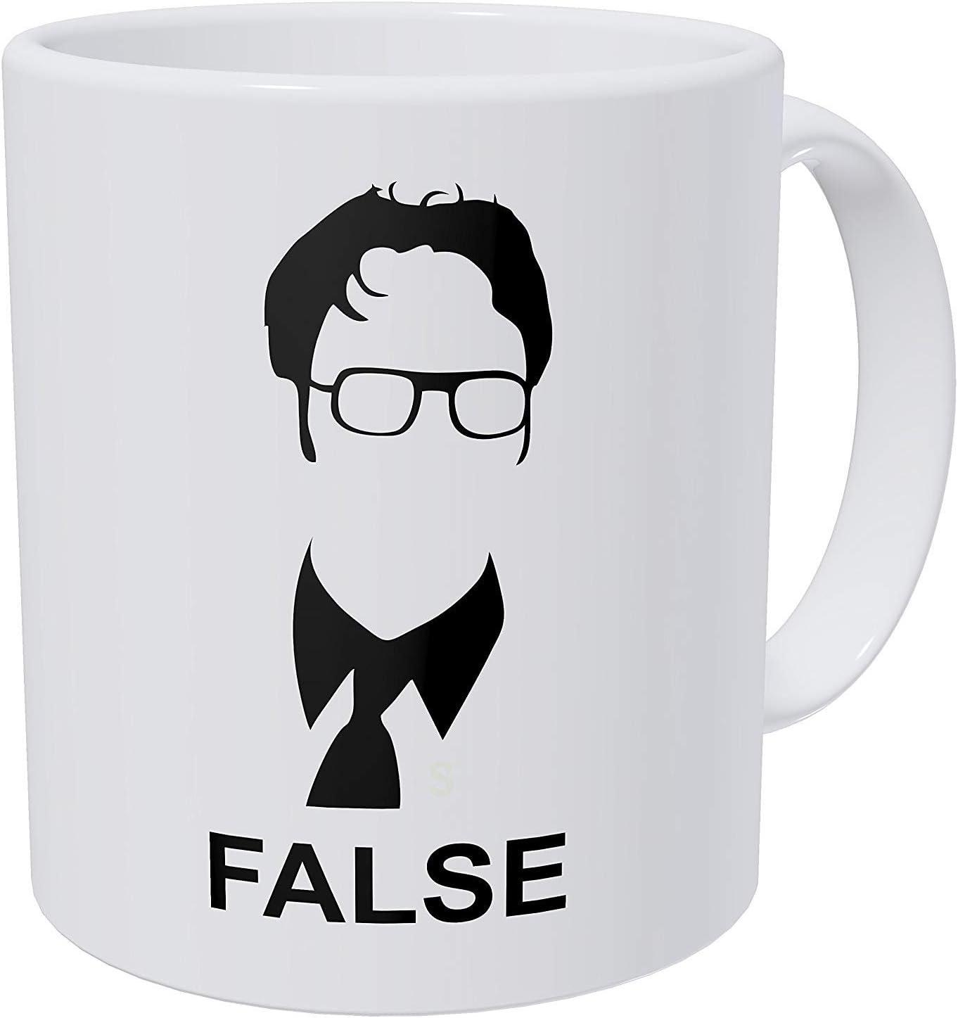 Wampumtuk False Jim Halpert The Office - 11 Ounces Funny Coffee Mug