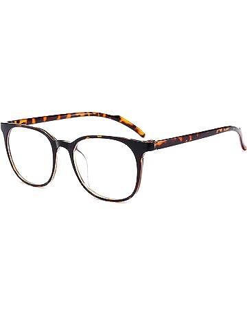 1fce02a8703 ANRRI Blue Light Blocking Computer Glasses for Anti Eyestrain Anti Glare  Lens Lightweight Frame Eyeglasses Leopard