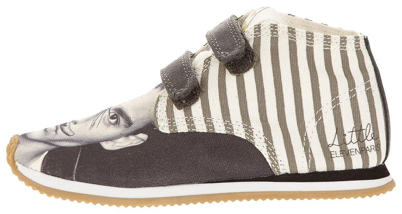 Eleven Paris Little Run Johnny, Sneaker unisex bambino, Grigio (Gris