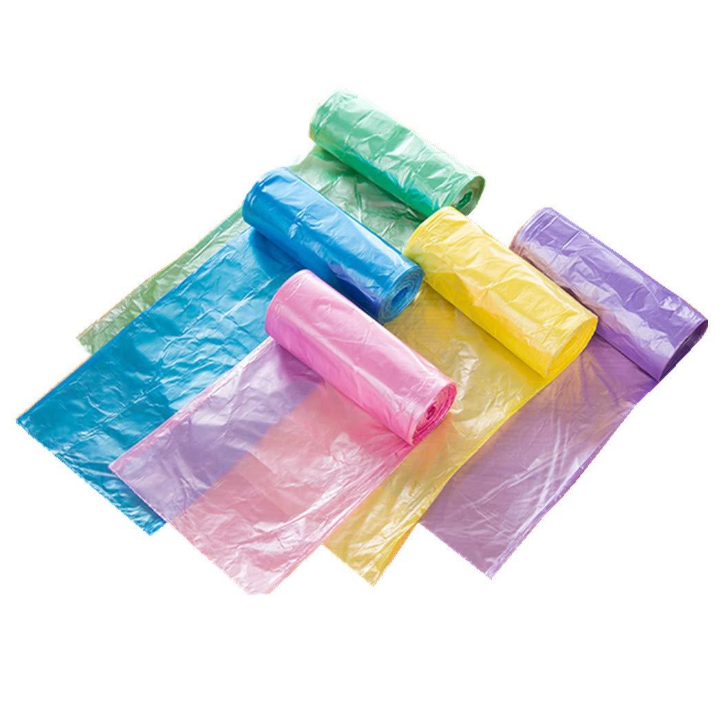 Plastica Trash Bags Garbage Bags sacchetti della spazzatura immondizia pattumiera per bagno cucina soggiorno 10L multi colori 100pcs/Pack BAOXUAN