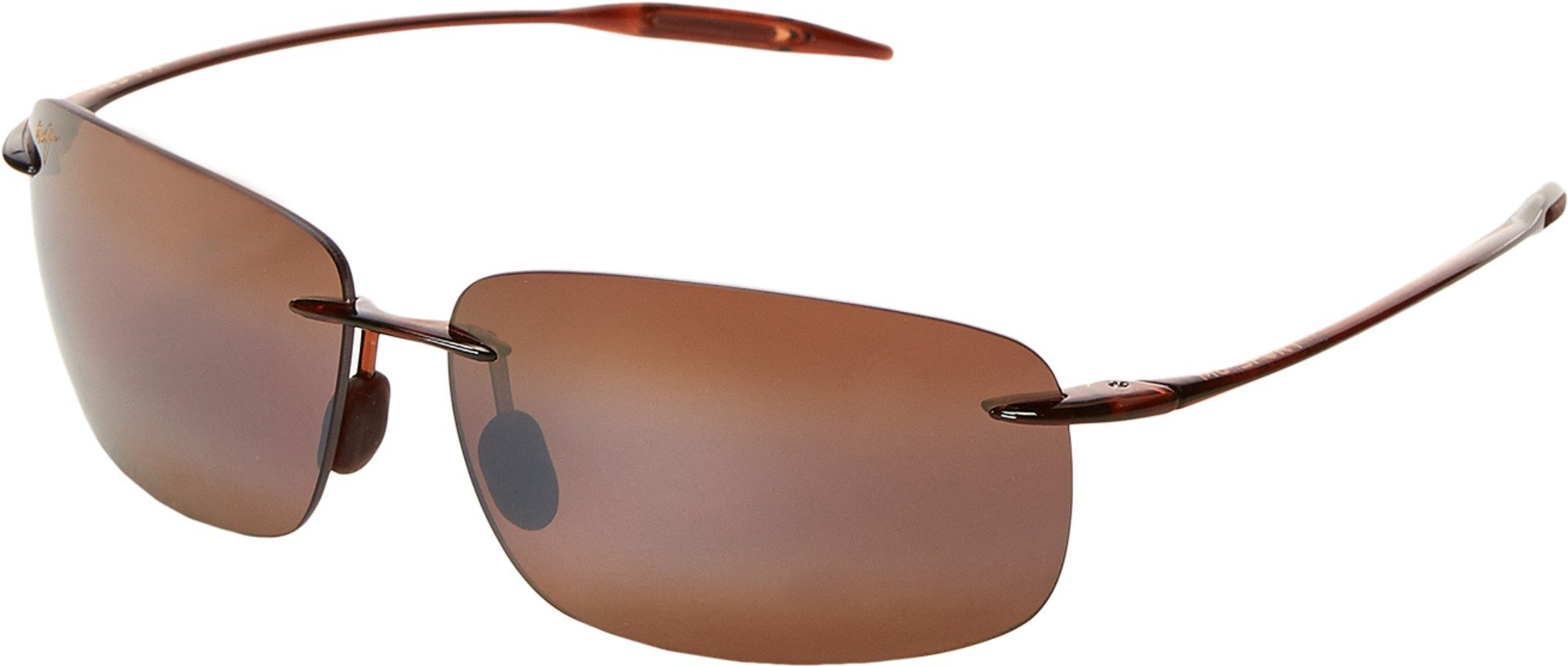 Maui Jim Breakwall H422-26 Polarized Square Sunglasses,Rootbeer Frame/HCL Bronze Lens,One Size