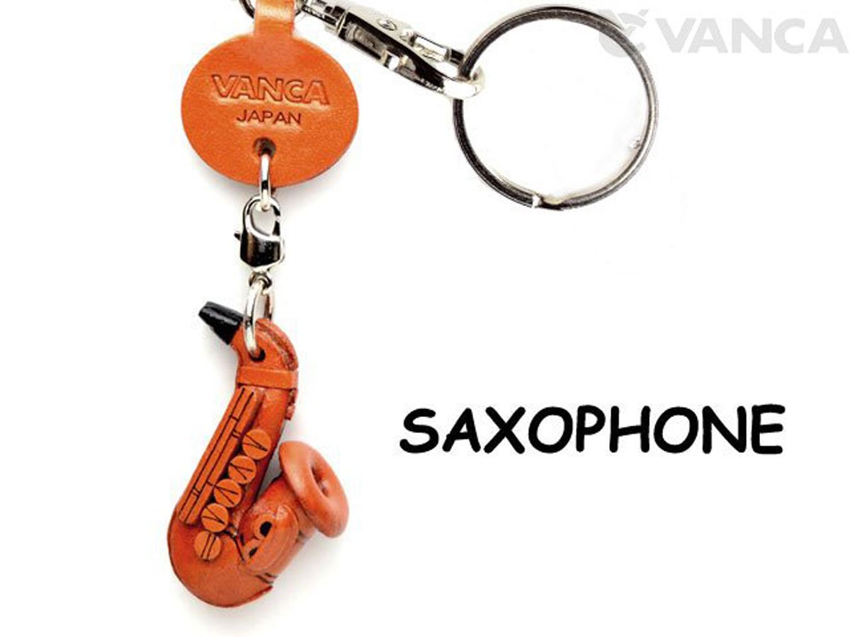 Saxophone VANCA Leather Goods Small Keychains VANCA Keychains craft-collectibleキーリング日本製 Goods B008DPVP6M, 蔵屋:97c7156f --- awardsame.club
