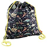 Dinosaur Kit Bag with Drawstring - Novelty Toy by Floss & Rock (35P2511)