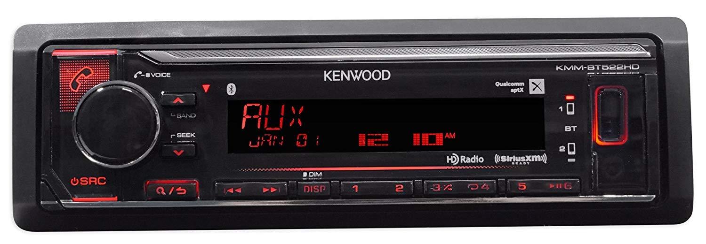 Kenwood Bn-Kmmbt522hd Bluetooth Mechless Digital Media Receiver KMM-BT522HD