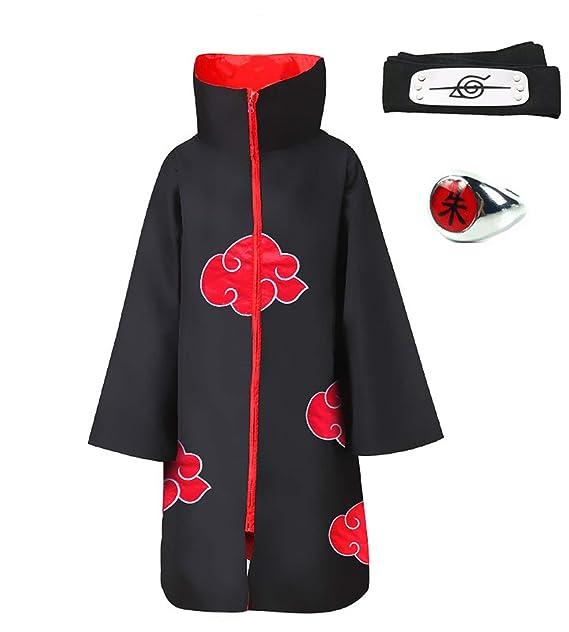 Amazon.com: HappyShip - Disfraz de Akatsuki de Halloween con ...