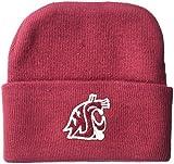 NCAA Washington State Cougars Infant Knit Cap, New Born, Crimson