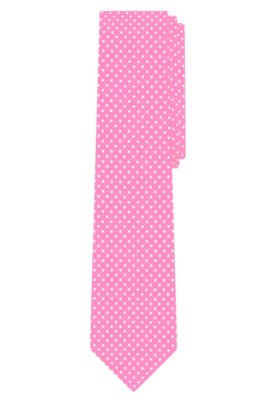 Champagne Jacob Alexander Polka Dot Print Mens Slim 2.75 Polka Dotted Tie