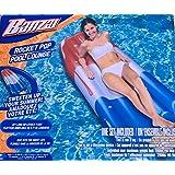 PREMIUM Rocket Pop Pool Float by Banzai . LARGE - 6 Feet