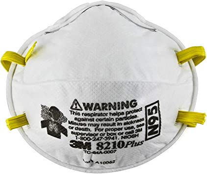 Masks Safety Particle 3m N95 20 8210 Respirator 7048